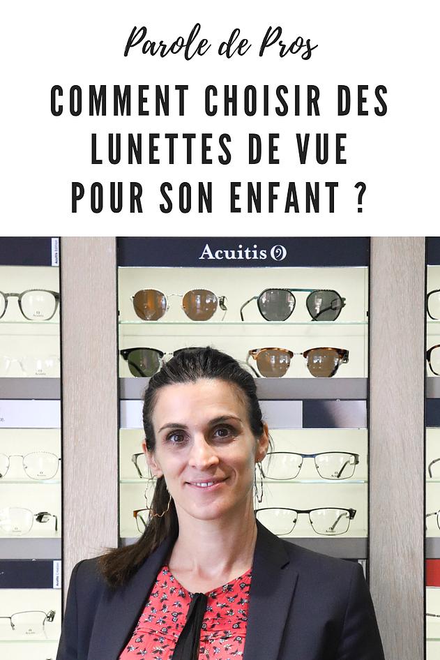 Comment choisir des lunettes de vue pour son enfant?