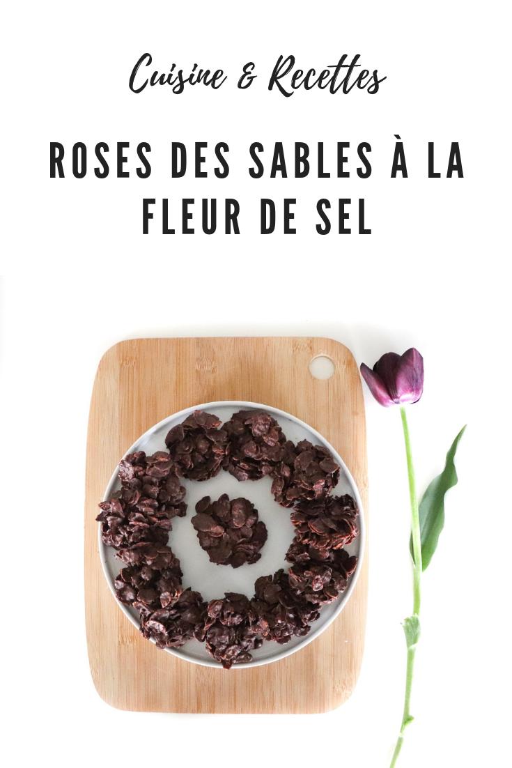 Roses des sables a la fleur de sel