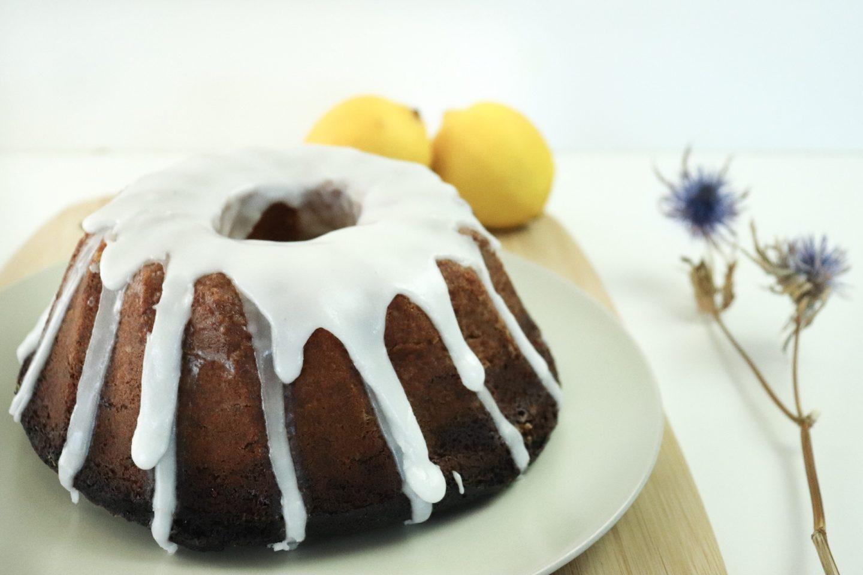 Bundt Cake citron et pavot bleu