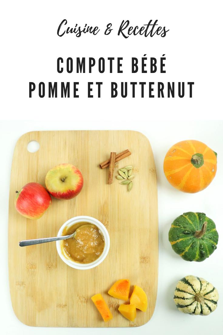 compote bebe pomme et butternut